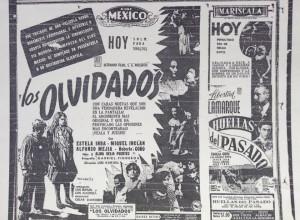 Cartel publicitario en el periódico El Universal, 1950
